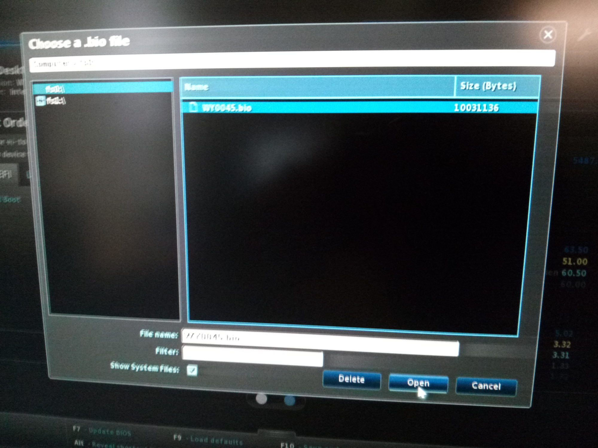 Intel NUC D34010WYK – Accessing and updating the BIOS – dthlabs com